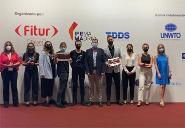 Alumnos de la UMA salen ganadores de FITUR Talent