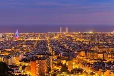 Vistas de Barcelona.
