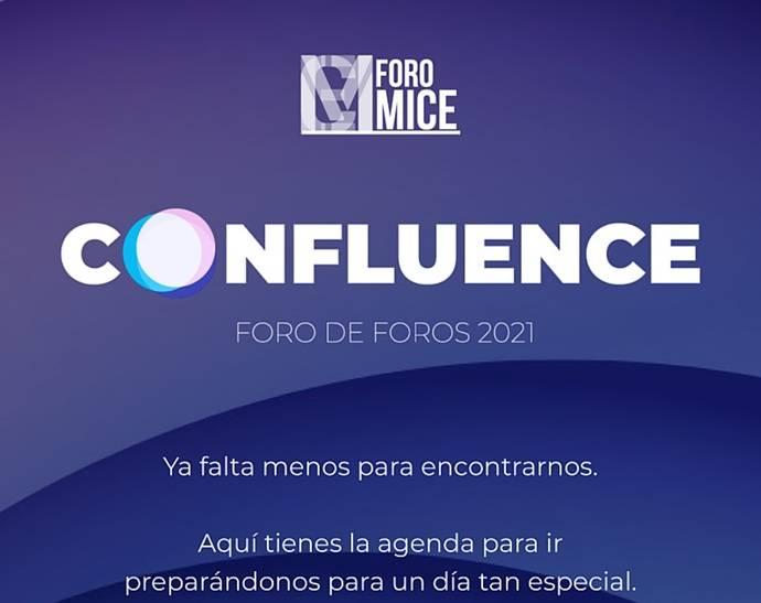 Confluence, híbrido, de Foro MICE-OPC Spain