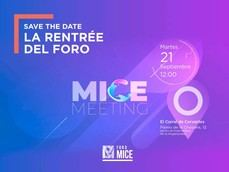 La rentrée del Foro MICE, este martes, en Madrid