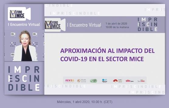 El Sector MICE español trabaja en la recuperación de la industria