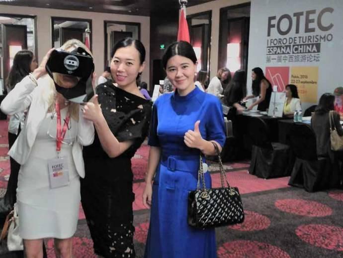 Realidad virtual para las agencias de viajes chinas
