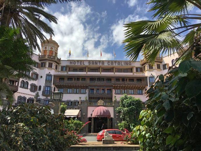Fotografía del emblemático hotel Santa Catalina, en Las Palmas de Gran Canaria