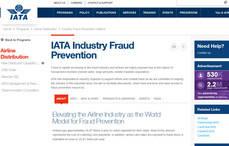 La web de IATA cuenta con un espacio destinado a combatir el fraude.