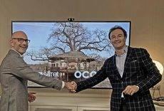 A la izquierda, el socio-fundador de OCOA travel, Abel Calvet y a la derecha el socio y CEO de Ferrer & Saret, Jordi Ferrer.