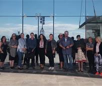 Estudiantes y profesores de Islandia visitan las instalaciones de Fycma
