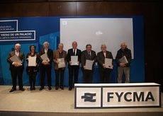 La presentación de los libros sobre Fycma.