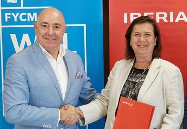Fycma e Iberia siguen su acuerdo de colaboración