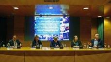 La mesa de la primera edición del Foro Urban Tourism Trends de Valencia.