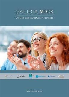 La portada de la guía Galicia MICE.