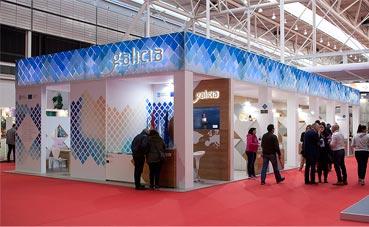 APD gana los stands de la Xunta de Galicia para 2017