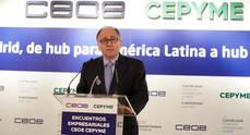 Luis Gallego interviene en el Encuentro Empresarial CEOE-CEPYME.