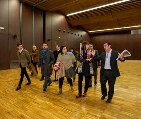 Las obras del Auditorio de Gandía estarán finalizadas el próximo mes