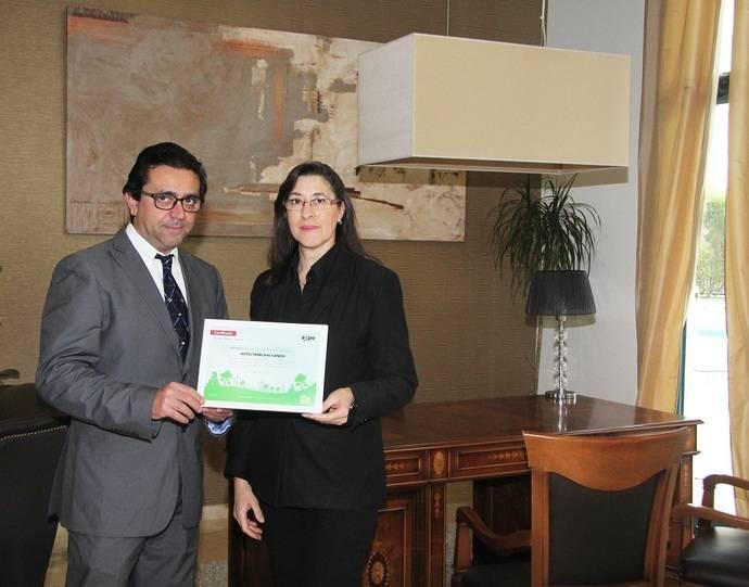 El Hotel Principal de Gandía se declara 'territorio verde'