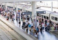 El gasto turístico internacional sube un 4% hasta marzo