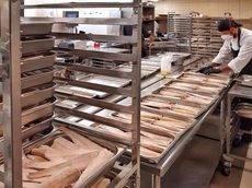 La preparación de los menús.