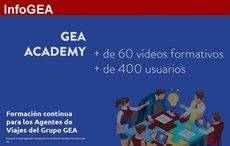 GEA Academy: 60 cursos y más de 400 usuarios