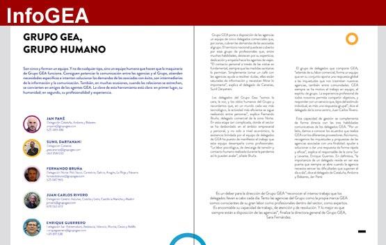 GEA en septiembre: rentabilidad y equipo humano