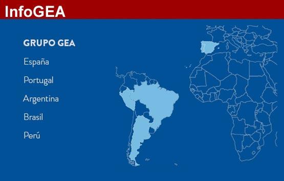 GEA, 2000 puntos de venta en todo el mundo