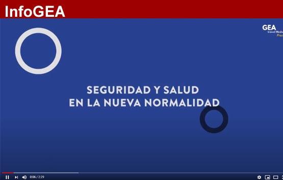 Gea produce videos sobre viajar con seguridad