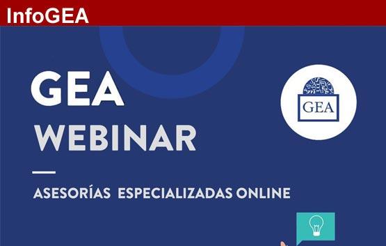 'Webinar' jurídico Gea: el nuevo Real Decreto-Ley