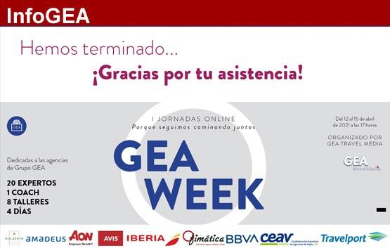 GEA WEEK: Porque seguimos trabajando juntos