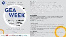 Arranca la GEA WEEK: 20 expertos, 8 talleres, una coach