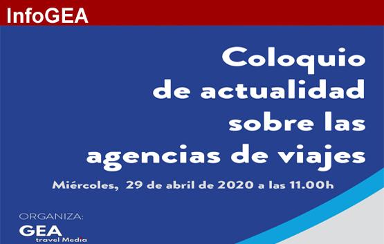 Coloquio: actualidad de las agencias de viajas, ¡inscríbete!