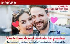 GEA activa la venta anticipada de viajes de novios