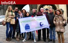 Un grupo de agencias de viajes GEA visita Praga