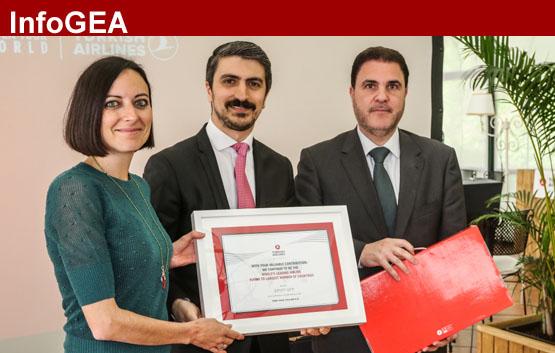 Turkish Airlines reconoce a las agencias GEA