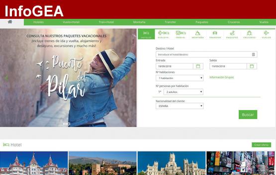 GEA lanza su nueva home page multiproducto