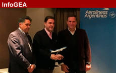 Aerolíneas Argentinas reconoce a las agencias GEA