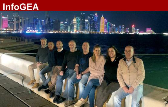 'Fam trip' de GEA en colaboración con Qatar Airways