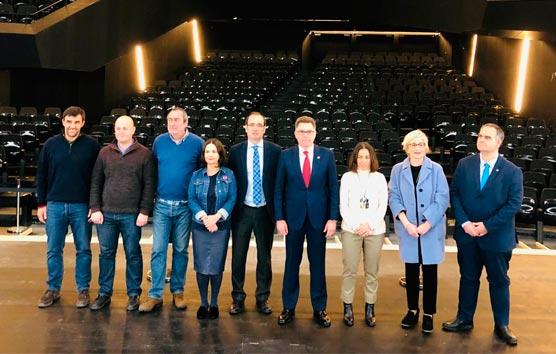 Vizcaya cuenta con otro gran espacio congresual, el Muxikebarri, en Getxo