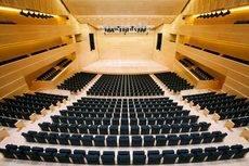 El auditorio del Palacio de Congresos de Girona.