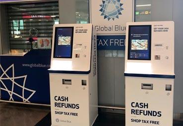 Global Blue instala 'cajeros' para la devolución del IVA