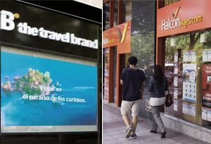 Globalia y Barceló firman este lunes la fusión de sus divisiones de viajes