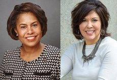 Julie Coker Graham y Trina Camacho-London, copresidentas de Meetings Mean Business.