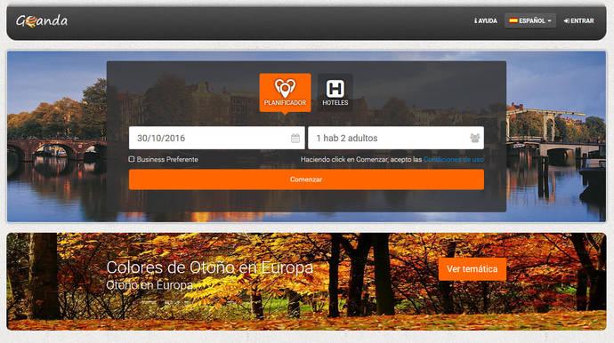 Goanda, nueva 'startup' española de reservas turísticas