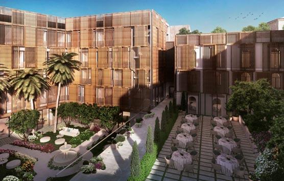Un hotel y centro de convenciones en el Palacio de Godoy, en Cáceres