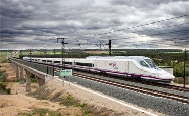 El tren es más rápido que el avión en muchos trayectos