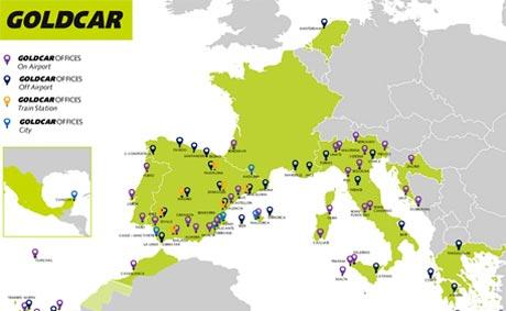Goldcar continúa su expansión en el sur de Europa
