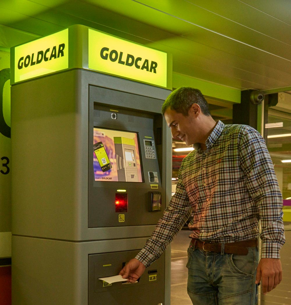 Goldcar presenta en fitur su innovador sistema key n go for Oficinas goldcar