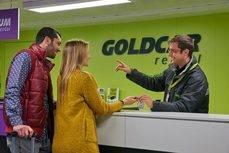 Goldcar dispone de una red de más de 95 oficinas en España, Portugal, Italia, Francia, Malta, Andorra, Marruecos, Grecia, Croacia, Países Bajos, México, Rumanía, Chipre, Turquía, Serbia e Islandia.