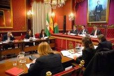 La asamblea del Convention Bureau ha tenido lugar en el Salón de Plenos del Ayuntamiento de Granada.