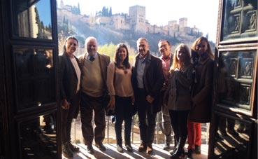 Visita de inspección a Granada de Heritage 2018