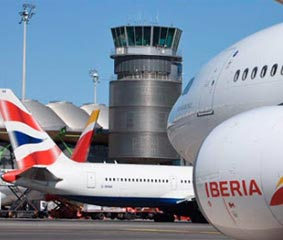 Desplome de las grandes aerolíneas hasta septiembre