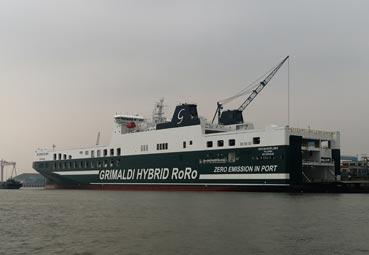 Grimaldi estrenará tres barcos durante este mes de enero