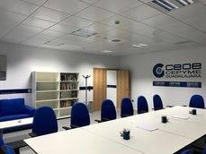 Uno de los espacios de la nueva sede de CEOE-CEPYME Guadalajara.